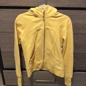 LULULEMON yellow hoodie